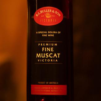 R.L. Buller NV Premium Fine Muscat 375ml 750ml Wine Label