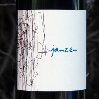 Bacio Divino Cellars 2014 'Janzen' Cloudy's Vineyard Napa Valley Cabernet Sauvignon 750ml Wine Label