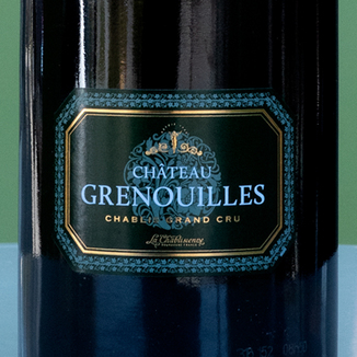 La Chablisienne 2014 'Château Grenouilles' Chablis Les Grenouilles Grand Cru AC 750ml Wine Label