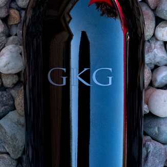 GKG Cellars 2015 Lewelling Vineyards St. Helena Napa Valley Cabernet Sauvignon 750ml Wine Label