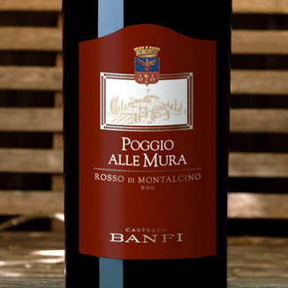Banfi 2016 'Poggio alle Mura' Rosso di Montalcino DOC 750ml Wine Label