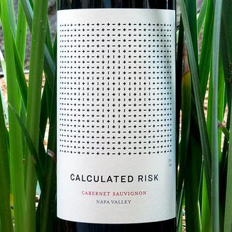 Calculated Risk 2016 Cabernet Sauvignon Napa Valley 750ml Wine Label