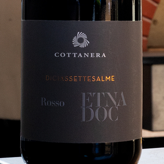 Cottanera 2015 Contrada Diciassettesalme Etna Rosso DOC 750ml Wine Bottle