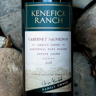 Kenefick Ranch 2016 'Chris's Cuvée' Calistoga Napa Valley Estate Cabernet Sauvignon 750ml Wine Bottle