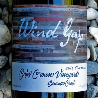 Wind Gap 2016 Gap's Crown Sonoma Coast Chardonnay 750ml Wine Label