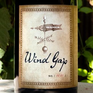 Wind Gap 2013 Sonoma Coast Pinot Noir 750ml Wine Label