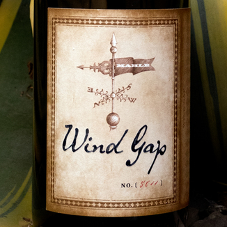 Wind Gap 2013 Chenoweth Vineyard Sonoma Coast Pinot Noir 750ml Wine Label