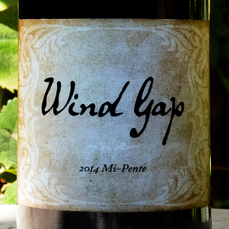 Wind Gap 2014 'Mi-Pente' Sonoma County Pinot Noir 750ml Wine Label