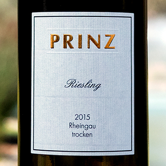 Weingut Prinz 2015 Trocken Dry Rheingau Riesling 750ml Wine Bottle