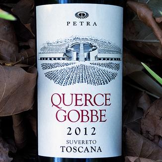 Petra 2012 'Quercegobbe' Suvereto Toscana IGT 750ml Wine Label