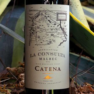 Bodega Catena Zapata 2015 High Mountain Vines La Consulta Mendoza Malbec 750ml Wine Label