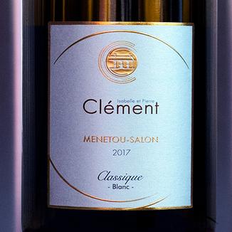 Isabelle et Pierre Clément-Châtenoy 2017 'Classique Blanc' Menetou-Salon AOC 750ml Wine Label