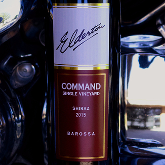 Elderton 2015 'Command' Single Vineyard Barossa Valley Shiraz 750ml Wine Bottle