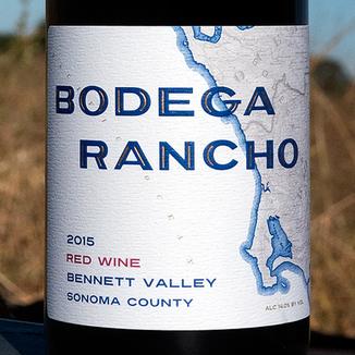 JDB Wines 2015 'Bodega Rancho' Bennett Valley Red Wine 750ml Wine Bottle