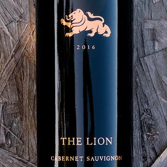 Hess Collection 2016 'The Lion' Mount Veeder Cabernet Sauvignon 750ml Wine Label