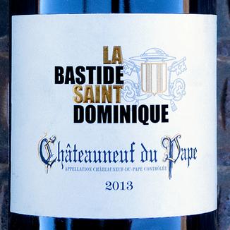 La Bastide Saint Dominique 2013 Châteauneuf-du-Pape AOC 750ml Wine Label