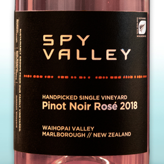 Spy Valley 2018 Handpicked Single Vineyard Pinot Noir Rosé 750ml Wine Bottle