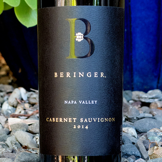 Beringer Vineyards 2014 'Distinction Series' Napa Valley Cabernet Sauvignon 750ml Wine Label