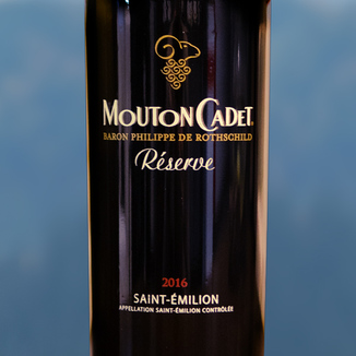 Baron Philippe de Rothschild 2016 Mouton Cadet Réserve Saint-Émilion 750ml Wine Label