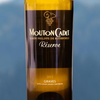 Baron Philippe de Rothschild 2017 Mouton Cadet Réserve Graves Blanc 750ml Wine Bottle