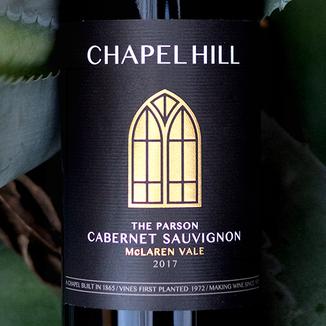 Chapel Hill Winery 2017 'The Parson' McLaren Vale Cabernet Sauvignon 750ml Wine Bottle