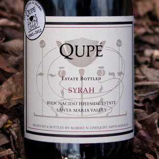 Qupé 2008 Hillside Estate Syrah 750ml Wine Label