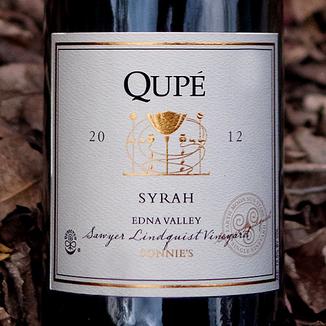 Qupé 2012 Sonnie's Edna Valley Syrah 750ml Wine Label