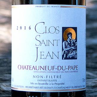 Clos Saint Jean 2016 Châteauneuf-du-Pape AOC 750ml Wine Bottle