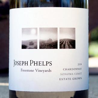 Joseph Phelps 2016 Freestone Vineyards Sonoma Coast Chardonnay 750ml Wine Bottle