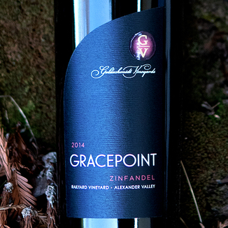 Goldschmidt Vineyards 2014 'Gracepoint' Railyard Vineyard Alexander Valley Zinfandel 750ml Wine Label