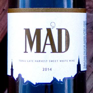 Szent Tamás 2014 'Mád' Tokaji (Aszú 6 Puttonyos) Late Harvest 375ml 750ml Wine Label