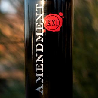 Beau Vigne 2016 'Amendment XXI' Napa Valley Merlot 750ml Wine Label