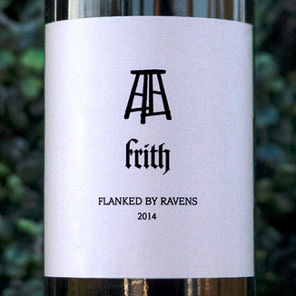 Frith Wines 2014 'Flanked by Ravens' Napa Valley Cabernet Blend 750ml Wine Label