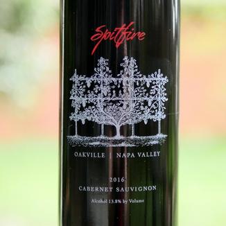 Meyer Family Cellars 2016 'Spitfire' Oakville Napa Valley Cabernet Sauvignon 750ml Wine Label