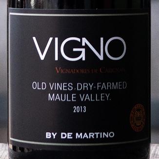 De Martino 2013 'Vigno' La Aguada Vineyard Maule Valley Field Blend 750ml Wine Label