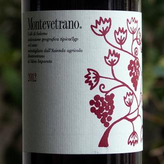 Montevetrano 2012 Colli di Salerno IGT Cabernet Blend 750ml Wine Label