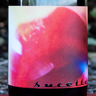 An Approach to Relaxation 2016 'Sucette' Vine Vale Barossa Valley Grenache 750ml Wine Label