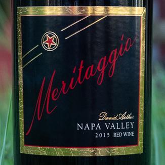 David Arthur Vineyards 2015 'Meritaggio' Napa Valley Red 750ml Wine Label