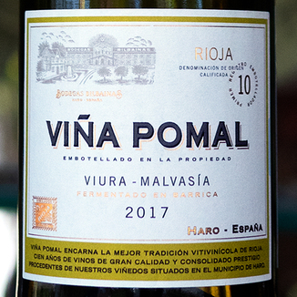 Bodegas Bilbaínas 2017 'Viña Pomal' Blanco Rioja DOCa 750ml Wine Label