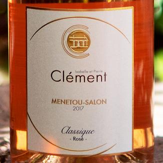 Isabelle et Pierre Clément-Châtenoy 2017 'Classique Rosé' Menetou-Salon AOC 750ml Wine Label