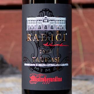 Mastroberardino 2015 'Radici' Taurasi DOCG 750ml Wine Label