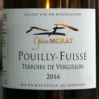 Domaine Gilles Morat 2016 'Terroirs de Vergisson' Pouilly-Fuissé AOC 750ml Wine Label