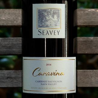 Seavey Vineyard 2014 'Caravina' Seavey Vineyard Napa Valley Cabernet Sauvignon 750ml Wine Label