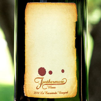 Furthermore Wines 2016 La Encantada Vineyard Sta. Rita Hills Pinot Noir 750ml Wine Label