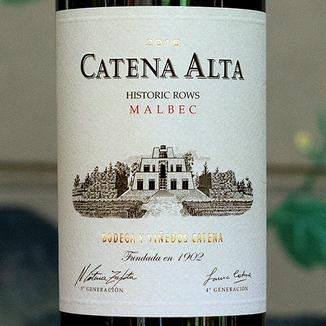 Bodega Catena Zapata 2016 'Catena Alta' Historic Vines Mendoza Malbec 750ml Wine Label