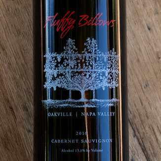 Meyer Family Cellars 2016 'Fluffy Billows' Oakville Napa Valley Cabernet Sauvignon 750ml Wine Label