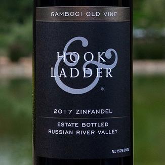 Hook & Ladder 2017 Gambogi Old Vine Russian River Valley Zinfandel 750ml Wine Label