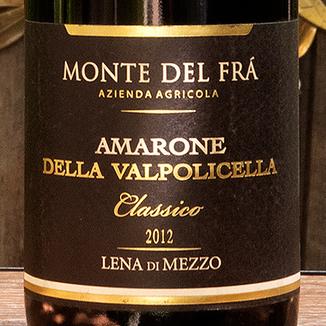 Monte del Frà 2012 'Lena di Mezzo' Amarone della Valpolicella Classico DOCG 750ml Wine Label