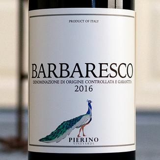Davide Rivetti 2016 'Pierino' Neive Barbaresco DOCG 750ml Wine Label