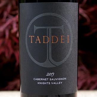 Taddei Wines 2013 Knights Valley Cabernet Sauvignon 750ml Wine Label